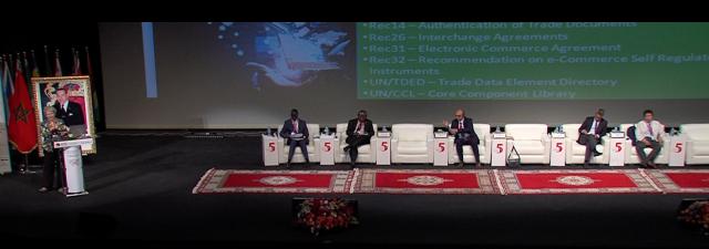 En phase de consolidation le guichet unique marocain for Portnet maroc